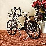 FYLYHWY NOSTALGICO Antigua FIGURACIÓN FIGURAINA Metal Craft DE Decoración para El Hogar Accesorios para La Bicicleta Adorno Miniatura Modelo crío Regalos De Cumpleaños Adornos (Color : A)