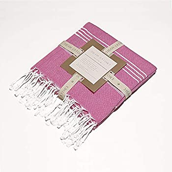 Dream Catcher Turkish Peshtemal Towels %100 Cotton Towels Clearance Bath Towel Fast Drying Lightweight Beach Towel Traveling Gym Camping Thin Pool Towels 35x67 inc Pink