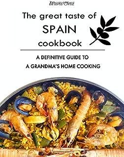 El libro de cocina The Great Taste of Spain: una guía definitiva para la cocina casera de una abuela