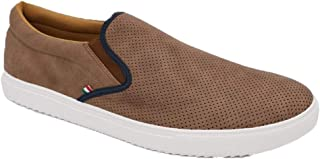 Duke D555 Mens Blair Low Rise Casual Slip On Trainers Plimsolls Shoes