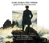 Weber: Symphonies No 1 & 2/Con