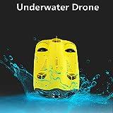 Mini-Drohnen Fünf-Radantrieb Miniatur Unterwasser Submarine Drone Tauchen Drone Mit 4K Kamera...