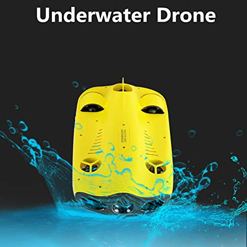 Mini Drones Five-Wheel Drive Miniature Underwater Submarine Drone Diving Drone with 4K Camera...