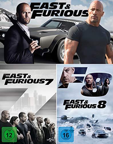 Fast & Furious 7 + 8 [2er DVD-Set]