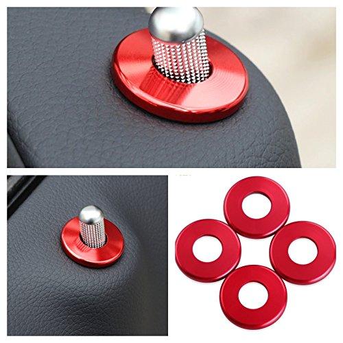 Preisvergleich Produktbild Emblem Trading Pin Türschloss Ringe Rahmen Rot Passend Für C C65 AMG W205 E E43 E63 AMG W213 GLC