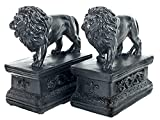 Bellaa 23453 Decorative Bookends Library Lion...