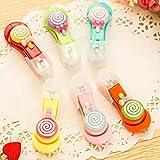 Candy Color Lollipop Kindernagelknipser, niedlich, Nagelpflege, zufällige Farbe, 1 Stück
