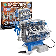 ✔ LET YOUR CHILDREN GET HANDS ON with the Discovery Kids DIY Toy Model Engine Kit! This mini replica of a classic four cycle internal combustion gasoline car engine teaches young minds all about the wonderful world of mechanical engineering in one im...