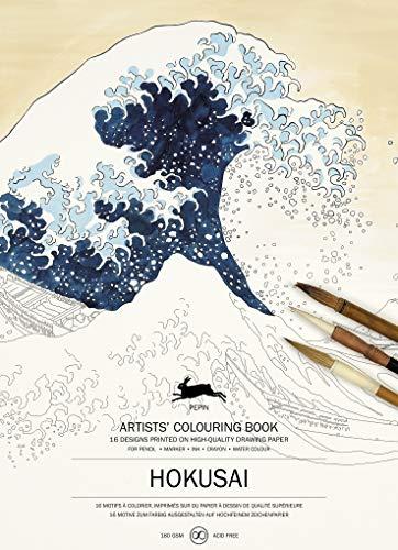 Hokusai: Artists' Colouring Book (Artists' Colouring Books)
