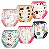 FLYISH DIRECT Calzones de Entrenamiento para Bebé Niñas Pañal de Aprendizaje Calzoncill...
