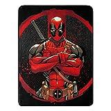 Marvel's Deadpool, 'Tough Guy' Micro Raschel Throw...