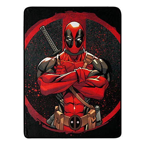 Deadpool fleece blanket Best Gifts for Deadpool Fans