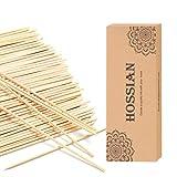 Hossian. Set di 100 bastoncini Reed Diffusore - Rattan-Reed Sticks -Diffus Bottiglie di vetro-Ricariche per diffusori- Spa-Aromaterapia, (7.87''(20cm))
