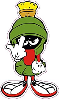 Nostalgia Decals Marvin the Martian F you Decal Large 10