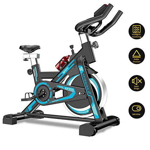 Review MMZX Exercise Bike Cycling Indoor,flywheel Belt Drive, Silent Belt Drive Cycle Bike with Adju...