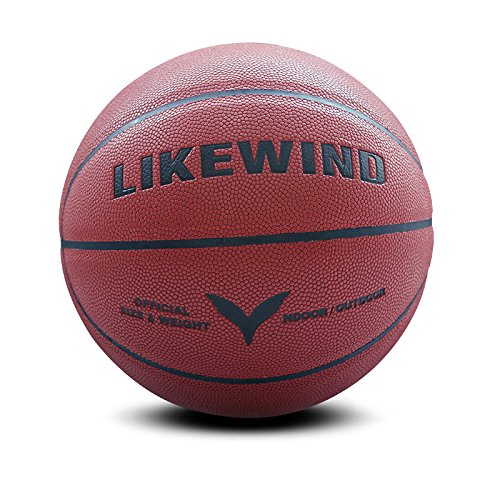 Amazing Deal LIKE WIND Moisture Absorption PU Official Size Basketball Training Ball Outdoor/Indoor ...