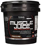 Ultimate Nutrition Muscle Juice Revolution Weight and Lean Muscle Mass Gainer Protein Powder with Glutamine, Micellar Casein and Time Release Complex Carbohydrates, Chocolate, 11.1 Pounds