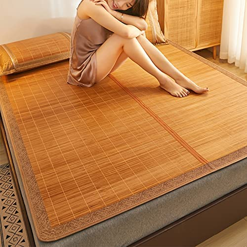 Max 64% OFF Breakthecocoon Bamboo mat mats Anti-Dual-use Straw Double-Side 2021 model