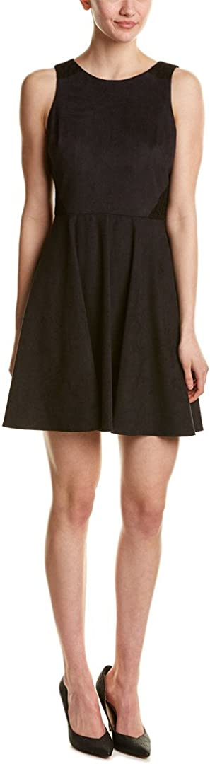 CeCe by Cynthia Steffe Women's Avery-S/l Suede Fit & Flare