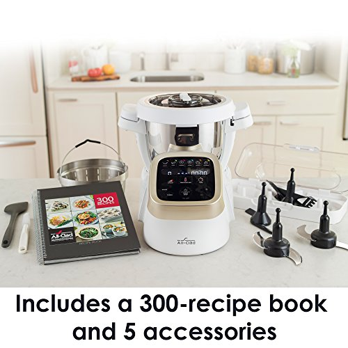 All-Clad HP503152 Prep&Cook Cooking Food Processor, 4.7-Quart, White