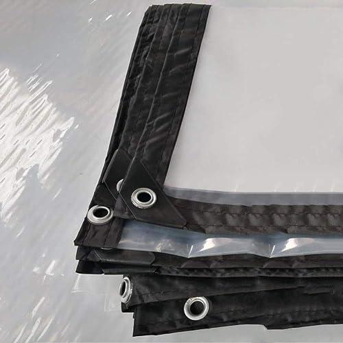YU-BY Transparent Tarpaulin Heavy Duty imperméable à l'eau approprié pour Le revêteHommest d'article, Camping extérieur, Tente de Camp,(Couleur   Clair, Taille   5x6M),4  5m