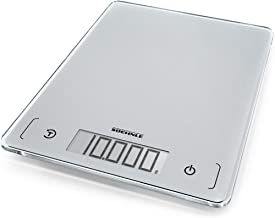 Soehnle 61504 Page Comfort Slim 300 Kitchen Scale, Digital Food Scale with Sensor Touch, acccurate Gram Scale for Measurin...