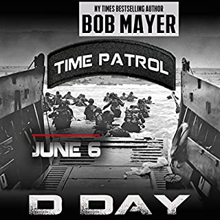 D-Day (Time Patrol) audiobook cover art