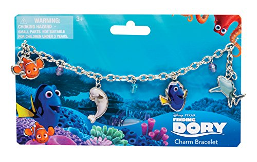 Joy Toy 41141 Finding Dory Charm Bracelet with 4 Pendants Backer Card