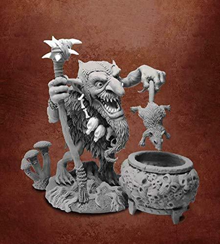 XINGCHANG 1/32 54Mm Ancient Man Stand Fantasy Resin Figure Model Kits Miniature Gk Unassembly Unpainted
