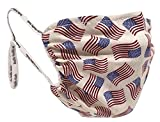 Breathe Healthy Face Mask, Washable, Reusable, American Flags Design - Buy American Made