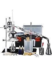 NSDFG Química Industrial Completa Equipos de Laboratorio Destilación Juego de vidrios Unidad de destilación de 500 ml Separación Embudo
