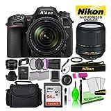Nikon D7500 20.9MP DSLR Digital Camera with 18-140mm VR Lens (1582) USA Model Deluxe Bundle Kit -Includes- Sandisk 64GB SD Card + Large Camera Bag + Filter Kit + Spare Battery + Telephoto Lens + More