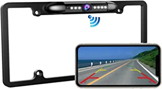 $95 » Casoda WiFi License Plate Backup Camera for iPhone and Android, Crystal Clear View Ultra Strong Signal Smooth Video Infrar...