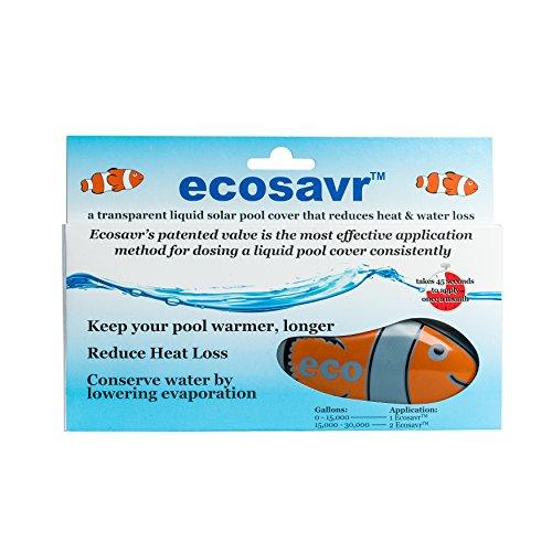 EcoSavr 99999-3 Solar Fish Liquid Pool Cover for Swimming...