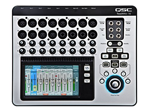 QSC TouchMix-16 Compact Digital Mixer with Bag