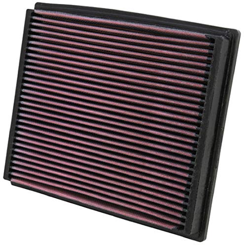 K&N Engine Air Filter: High Performance, Premium, Washable, Replacement Filter: 1994-2009 AUDI/VOLKSWAGEN/SKODA (A4, A6, RS4, S4, S6, Allroad I, Allroad Quattro, Passat, Superb), 33-2125
