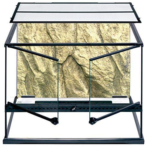 Exo Terra Glass Terrarium Tank - 24 x 18 x 18 Inches