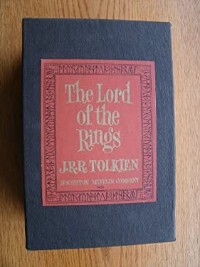 The Lord of the Rings: 3 Volume Set: Boxed in Slipcase: Revised Second Edition 1965: Volume I-the Fellowship of the Rings, Volume II-the Two Towers, Volume III-the Return of the King