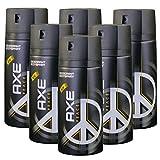 """New Design"" 6 x Axe Peace Deospray 150ml"