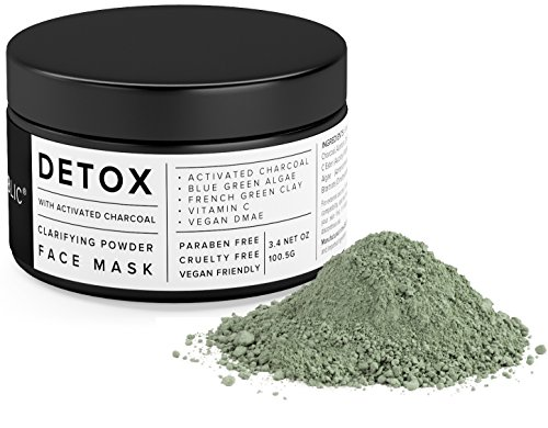 Activated Charcoal & French Clay Powder For DIY Masks & Skin Treatments
