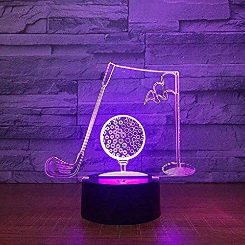 Kleurrijk Gradiënt Nachtlampje, Usb Opladen Creativiteit Led 3D Illusie Effect Dimensionale Muzieknoot Tafellamp (Acryl Paneel + Abs Voet)