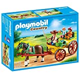 Playmobil-6932 Carruaje con Caballo, Multicolor (6932)
