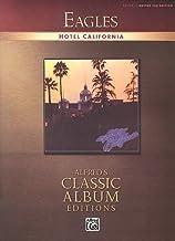 Eagles : Hotel California – songbook for vocal/gitarr/flik med plektrum – alla låtar i det legendariska albumet arrangerad...