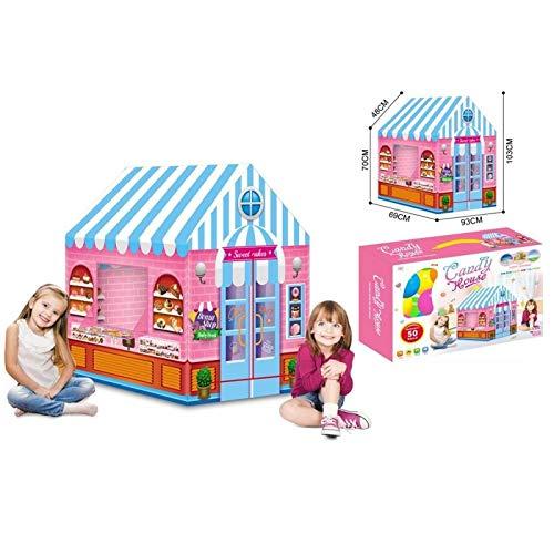 ATAA Tienda de golosinas Tienda de campaña para niños Tienda de Caramelos con Pack 50 Bolas
