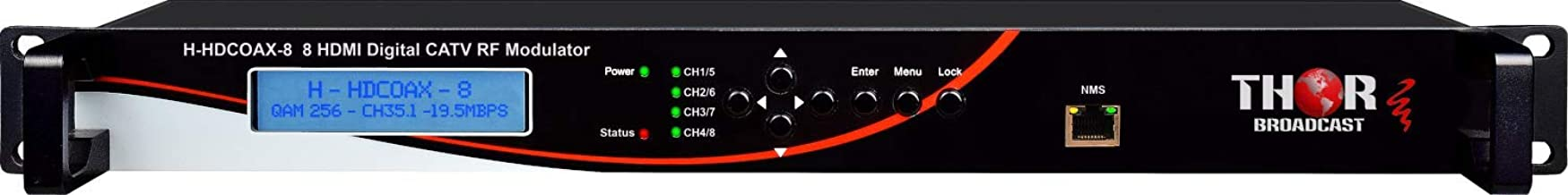8 HDMI Profesional Digital CATV RF Modulator -QAM ATSC ISDB-T - HDCP Free