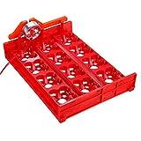 Lopbinte 12 Huevos de Gallina Turner para Bandeja de Incubadora AutomTica de Huevos de Aves de Corral PJaro Codorniz Pato