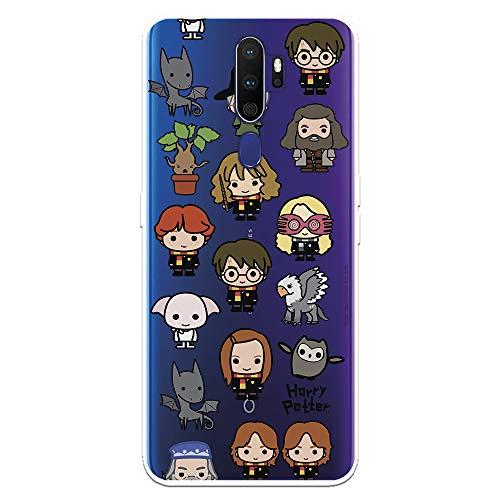 Funda para OPPO A9 2020 - A5 2020 Oficial de Harry Potter Personajes Iconos para Proteger tu móvil. Carcasa para OPPO de Silicona Flexible con Licencia Oficial de Harry Potter.