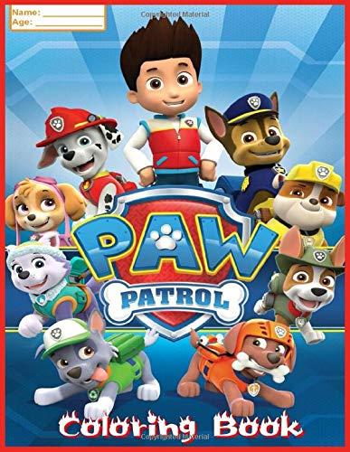 Paw Patrol Coloring Book: Patrulla Canina Libro para Colorear