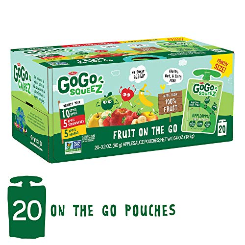 GoGo squeeZ Applesauce on the Go...