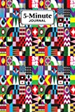 Five Minute Journal: Premium Shape Cover 5 Minute Journal For Practicing Gratitude, 120 Pages, Size 6' x 9' By Carl Moll